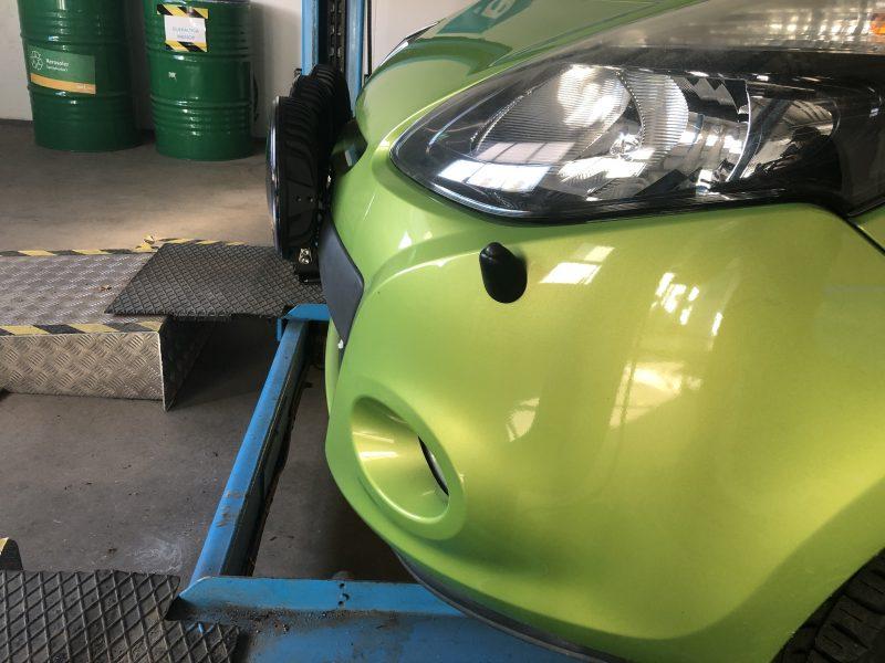 Extraljus ger bilen ett ansiktslyft